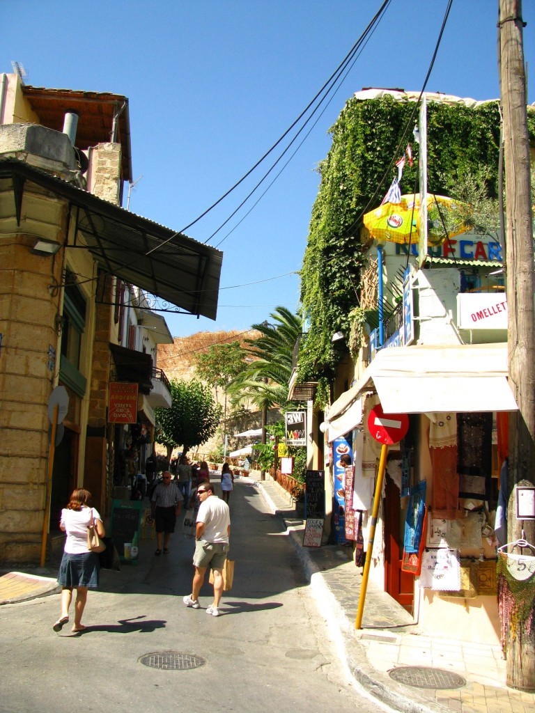 Straße in Chania