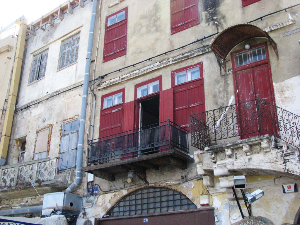 Stadtbild Kreta