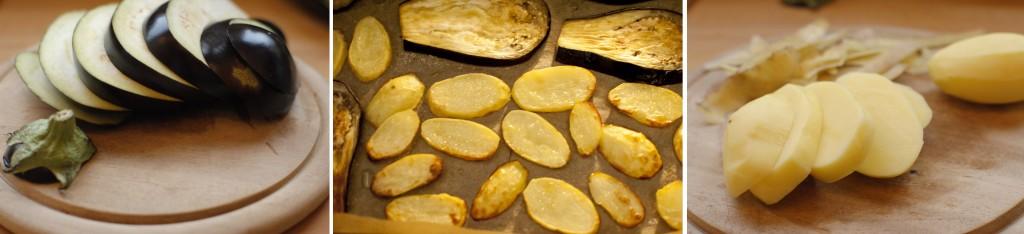 Auberginen Kartoffeln